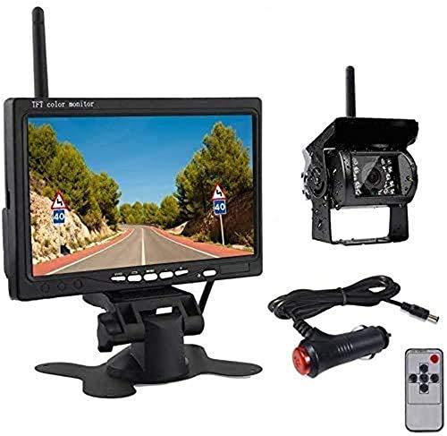 Drahtlose Auto Backup Kamera und Monitor Kitwasserdichte Nachtsicht...