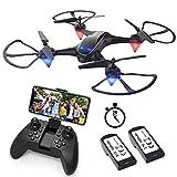 EACHINE E38 Drone avec caméra HD 720P WiFi App FPV【Vive la France!】 Aile...