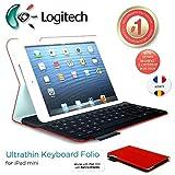 Logitech Ultrathin et protection Folio Clavier Case avec Auto Wake / sommeil...