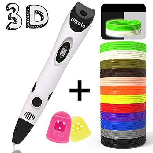 dikale 3D Pen with PLA Filament Refills...