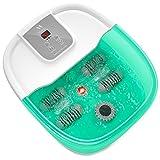 Masseur de bain de Spa de pied avec vibration de chaleur de bulles et...