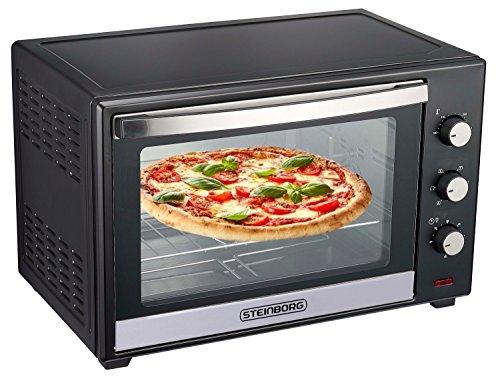 Steinborg | Mini-oven | 60 L | Heteluchtoven | 2200 Watt | 90 min timer
