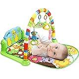 Tapis de jeux et d'éveil pour Bébé, 3 en 1 bébé Piano jouer Gym tapis...