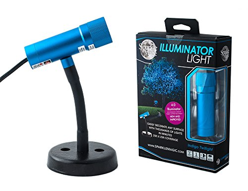 Sparkle Magic Indigo Twilight (Blue) Illuminator Laser Light 4.0...