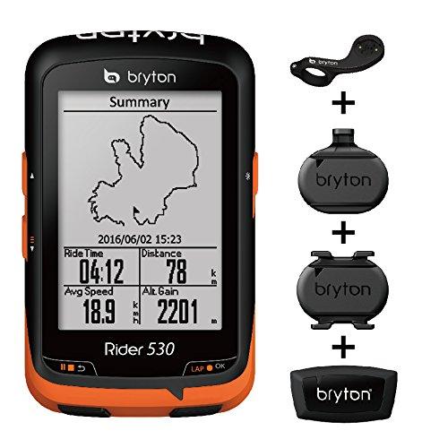 10. Bryton Rider 530 GPS Cycling Computer