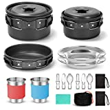 Odoland Multi-PCS Kit de Casseroles Camping, Cookware...