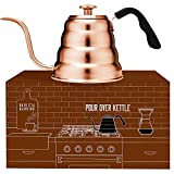 Barista Warrior Copper Kettle with Thermometer