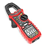 KAIWEETS Digital Clamp Meter T-RMS 6000 Counts, Multimeter Voltage Tester Auto-ranging, Measures Current Voltage Temperature Capacitance Resistance Diodes Continuity Duty-Cycle (AC/DC Current)