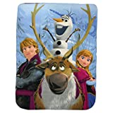 Kids Fleece Throw Blankets 46' x 60' Several Options (Frozen)