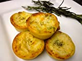 Wild Salmon and Asparagus Tip Quiche - Gourmet Frozen Seafood Appetizers (40 Piece Tray)