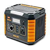BALDR Portable Power Station 330W, Portable Solar Generators for home use, CPAP Backup Battery with QC3.0&TypeC SOS Flashlight, 110V AC Outlet for Outdoor Camping Travel Emergency
