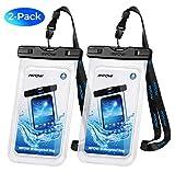 Mpow 【Lot de 2 Pochette Étanche Smartphone IPX8, Plongée Sac Étanche Haut Transparent...