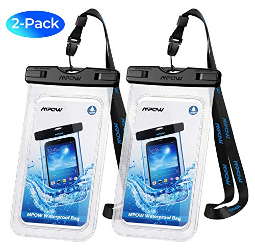 Mpow [2-Pack Housse Étanche Certifiée IPX8, Pochette Téléphone...