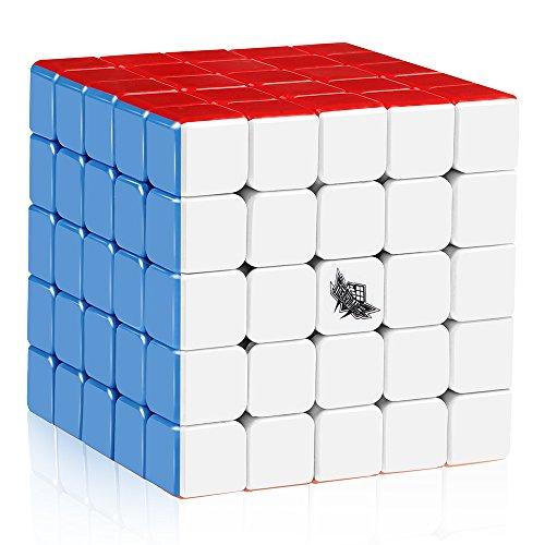 D-FantiX Cyclone Boys 5x5 Speed Cube Stickerless Magic Cube Puzzle 64mm