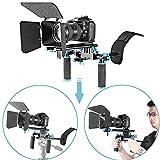 Neewer 10086550, Kit de Système pour Tournage de Vidéo Rig DSLR pour Caméscope et Appareil Photo Canon Nikon Sony Pentax Fujifilm Panasonic