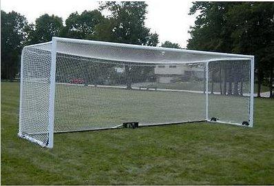 Gummiprodukt MB851-2er Tornetz Fußball Fußballtornetz Tor Netz 3 Größen Auswahl 3,0m 5,5m 7,5m (3,0 x 2,0 x 1,0 m)