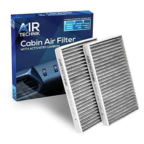 AirTechnik CF8791A Replacement for GMC/Chevy/Cadillac - Premium Cabin Air Filter w/Activated Carbon
