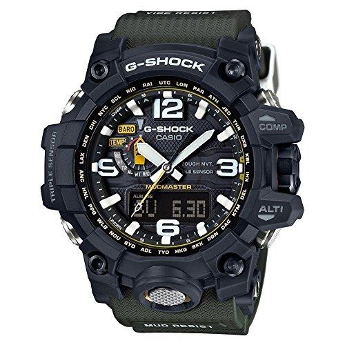 Casio Herren MultiZifferblatt Solarbetrieben mit Resin Armbanduhr GWG10001A3ER