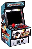 Golden Security Mini Arcade Game Machine RHAC01 156 Classic Handheld Games Portable Machine for Kids&Adults with 2.8' Eye-Protected Colorful Screen&Rechargeable Battery