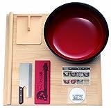豊稔 普及型麺打セット 大 そば・うどん麺打入門DVD付 A-1260