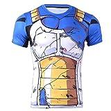 Anime Domain T-Shirt de Dragonball Vegeta (Taille:M)