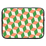Funda de maletín de Negocios Cool Cubes Seamless Art Laptop Laptop Protective Bag