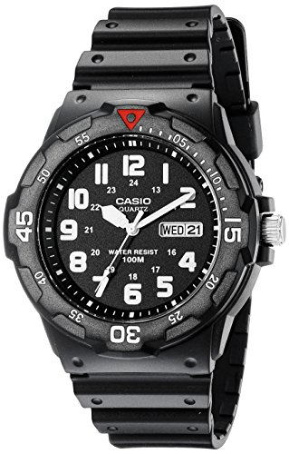 Casio Men's MRW200H-1BV Dive Watch