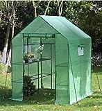 YOUKE Serre de Jardin PE Plastique Tente abri - diverses modèles - (143 x...