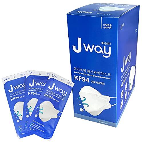 MEDIK Jway KF94 高性能3層フィルターマスク 50枚 使い捨て 不織布 立体3Dマスク PM2.5 飛沫 花粉 MCH-KF94...