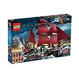 LEGO Pirates des Caraïbes - 4195 - Jeu de Construction - La Revanche du Queen Anne