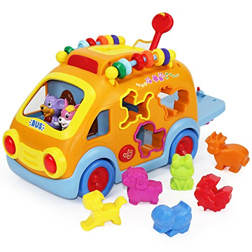 iPlay, iLearn Electronic Musical Bus, Baby Sensory Toy, 3D...
