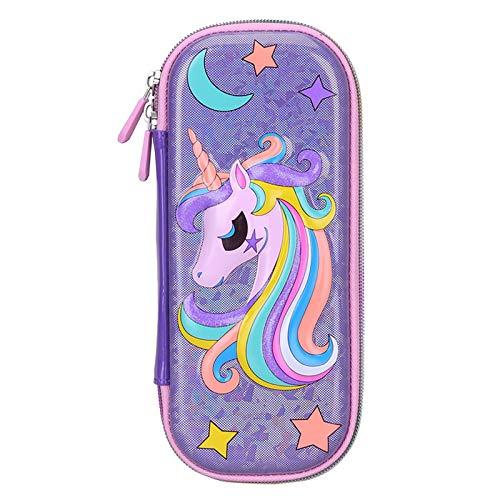 Astuccio, CYSJ astuccio portapenne a di unicorno, astuccio bambina, grande, per matite,astuccio scuola elementare bambina