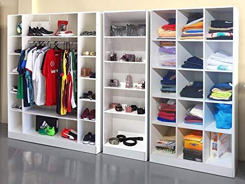 Exhibitor Colméia Cabideiro Niches = 3 Pieces = Clothing Store