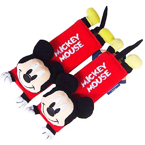 7. Disney Mickey Mouse Design Multi-Use Auto Car seat belt cover