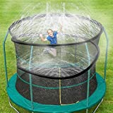 Trampoline Sprinklers for Kids - Ideal for Toddlers, Babies & Kids- Made with Non-Toxic Materials- Fun Sprinkler Trampoline Toy for Summer- Suitable for Boys & Girls of Ages 2-12- Multifunctional-