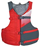 Stohlquist Fit Life Jacket, Red/Gray