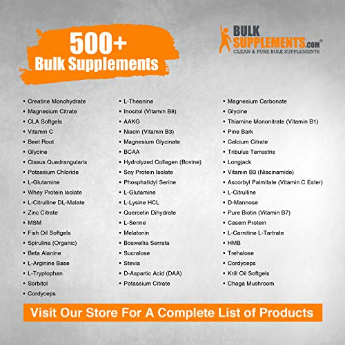 BulkSupplements L-Serine Powder (500 Grams) 4