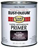 Rust-Oleum 8781502 Stops Rust Flat Aluminum Primer, Quart, 32 Fl Oz