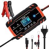 URAQT Chargeur Batterie, Chargeur de Batterie Voitures Intelligent Portable...