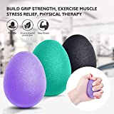 Peradix Egg Balle Anti Stress,Balle Reeducation de La Main Antistress Ball...