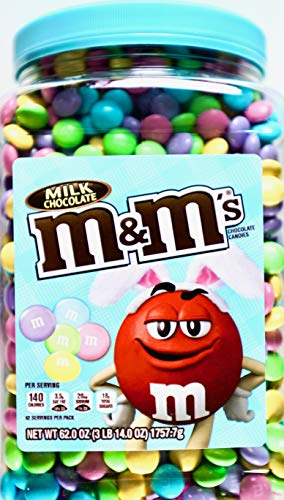 M&M'S Milk Chocolate Easter Candy Jar