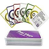 Royal Bingo Supplies Jumbo 5.25' x 3.25' Bingo Calling Cards, Pack of 84