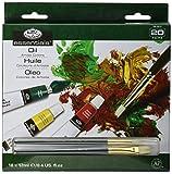 Royal & Langnickel Peinture à l'Huile 20 pièces (18 x 12 mL tubes d'huile...