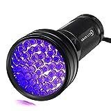 Escolite UV Flashlight Black...