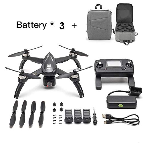[Aggiornato] 2019 Nuovi bug MJX 5W RC Drone 8G 4K con 2160P Wifi FPV HD Camera-Follow Me, MT2204...