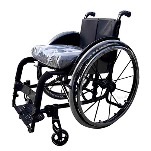 XXY.XXY Carrozzina Sportiva, Pieghevole Portatile Ultraleggera per disabili Mini Sedia a rotelle...