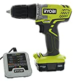 Ryobi HJP004L 3/8' 12 Volt Drill / Driver Kit (3 Piece Bundle Including: 1 x HJP003 Drill / Driver, 1 x CB121L 12 Volt Battery, 1 x 140157001 12 V Battery Charger)