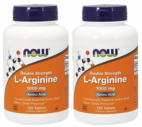 【2個セット】 [海外直送品]  Lアルギニン 1000mg(海外直送品) L-Arginine 1000 mg - 120 Tabs