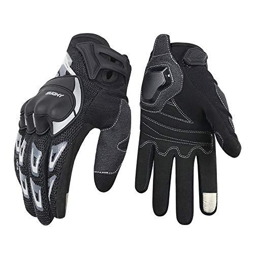 guanti moto,Guanti da moto a sezione sottile in mesh traspirante quattro stagioni in sella a...