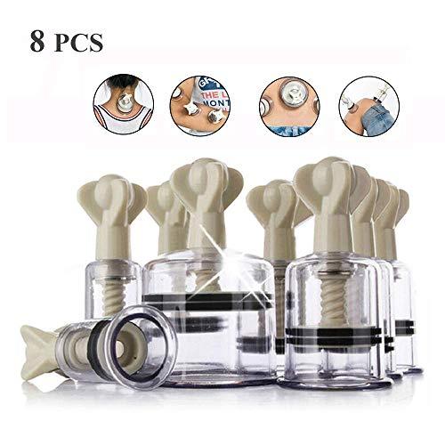 Vakuum Schröpfen Set Rotierender Schröpfmagnet Massage Hand Magnetfeldtherapie Schröpfgerät Schröpfen Therapie Set